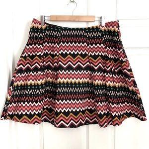 Skater Skirt Short 1X Forever 21 Plus Sizes